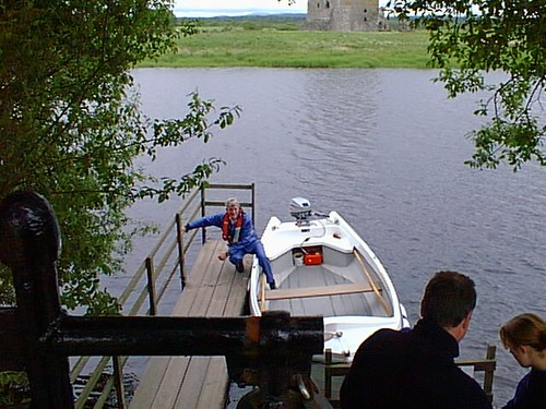 threave castle boat