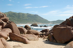 Praia Mole - Galheta (João Ebone) Tags: brazil praia beach stone mar areia florianópolis mole pedra nudismo galheta ebone naruralismo