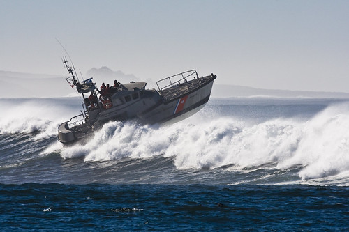 Coast Guard 47' Motor Lifeboat in Morro Bay, CA 04 Dec 2007