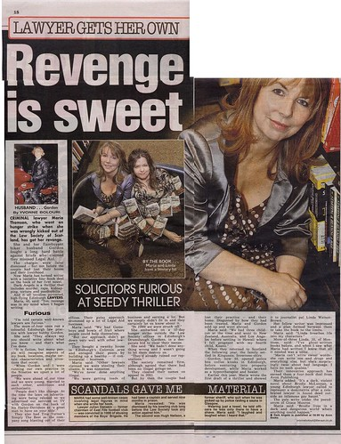 Revenge is Sweet - Gordon & Maria Thomson - The Sun November 23 2007