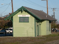 Historic Agnew Station - Santa Clara, Ca. (sharkzan) Tags: old buildings structures historic santaclara railroads agnew stations railfanning depots