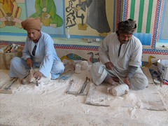 Egypt, Day 4, Alabaster Factory