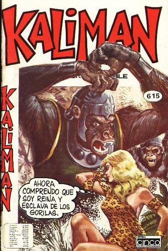 Portada Comics Kaliman El Hombre Increible Cinco 615