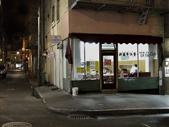 Lung Ting Cafe,  San Francisco (Dave Glass . foto) Tags: sanfrancisco california nightphotography cafe chinatown nightshot sfchinatown