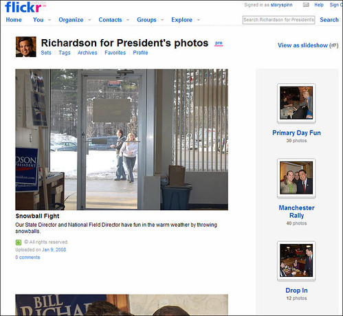 Bill Richardson's Flickr Profile