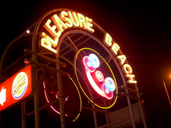 Pleasure Beach South Entrance Sign (CoasterMadMatt) Tags: sign fairground illuminations entrance illuminated lancashire amusementpark rides blackpool themeparks pleasurebeach pleasurebeachblackpool mrfunshine