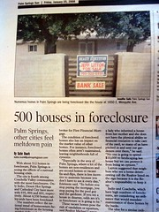 500 Homes in Palm Springs in Foreclosure