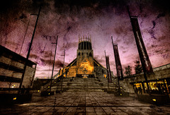 The Metropolitan Cathedral of Liverpool (BarneyF) Tags: city texture liverpool vintage cathedral metropolitan merseyside capitalofculture liverpool08 anawesomeshot aplusphoto