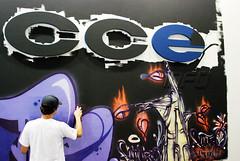 Mural da CCE INFO na Campus Party