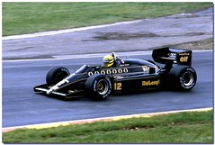 Ayrton Senna JPS Lotus Renault 98T F1 1986 British GP Brands Hatch (Antsphoto) Tags: uk slr classic car speed 35mm lotus britain f1 racing historic renault grandprix turbo formulaone british hatch canonae1 1986 1980s motorsports formula1 senna gp brands groundeffects motorsport racingcar turbocharged autosport cosworth kodakfilm ayrton jps ayrtonsenna blackgold carracing motoracing johnplayerspecial f1car formulaonecar formula1car jpslotus 98t tamron70210mm f1worldchampionship lotusrenault grandprixcar antsphoto canonae135mmslr sennalotus fiaformulaoneworldchampionship f1motoracing formula11980s anthonyfosh formula1turbo