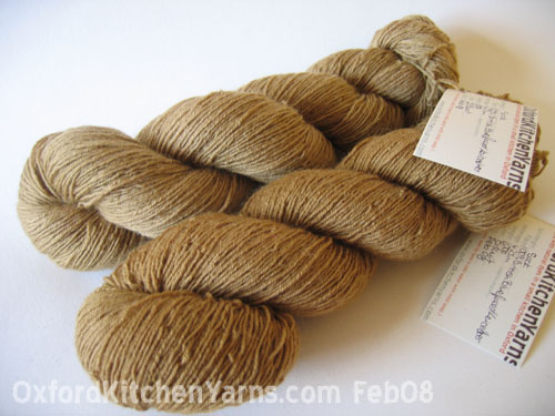 Oxford Kitchen Yarns Sock Yarn: Biscuit