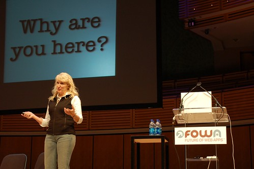 Kathy Sierra at FOWA Miami