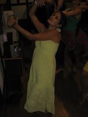 Paula dancing