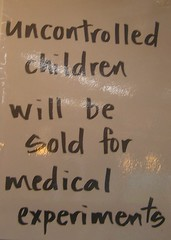 Funny Sign (Ray Tomes) Tags: sign children funny priceless nz uncontrolled raytomes