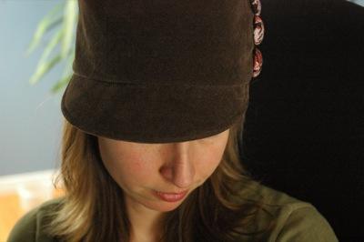 Spankin' new hat!