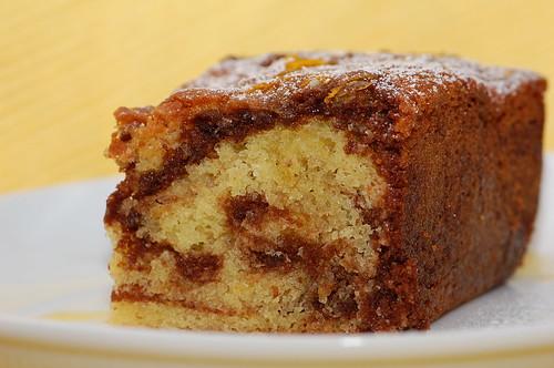 Recipe : Marble orange cake – Best recipes, foods and travel