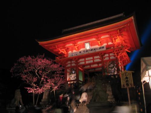 清水寺夜間特別拜觀