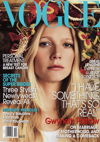 Gwyneth to Cover August's American Vogue