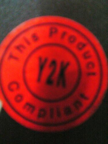 Y2K Compliant
