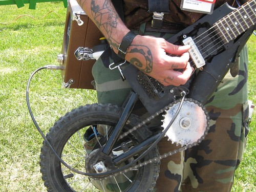 Bicycle Guitar