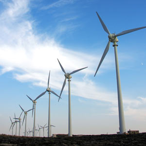 Image of wind power generators