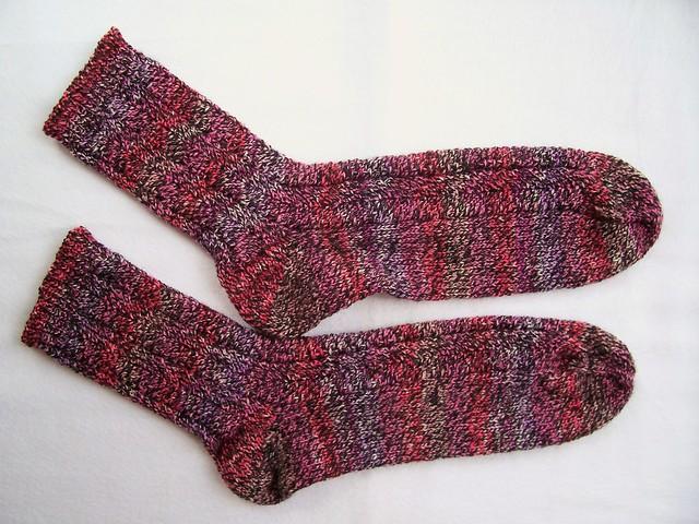 Chevron Socks Sides by nosmallfeet