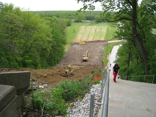 Swallow Cliff Toboggan Slides Demolition - May 19, 2008