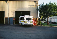 The end of the shift. Glenview Illinois. July 2008.