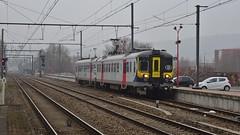 AM 984 - L154 - JAMBES (philreg2011) Tags: amclassique cityrail am984 l154 jambes l20144550 l20144584 sncb nmbs trein train