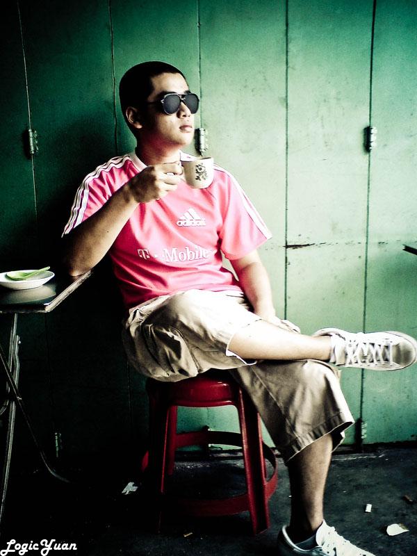 LogicYuan @ Toh Soon Cafe Kopi-O