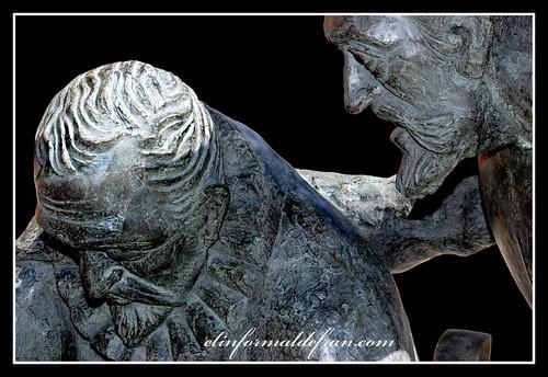 Cervantes y El Quijote, de Juan Carlos Martinez.Melilla