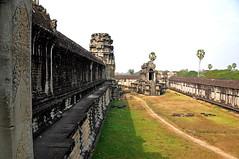 Cambodia-2351 - Mighty Walls of Angkor Wat