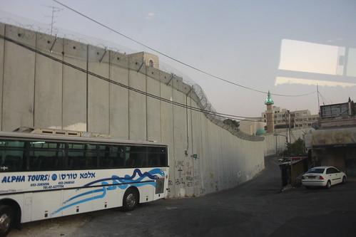 Vist des de Jerusalem est