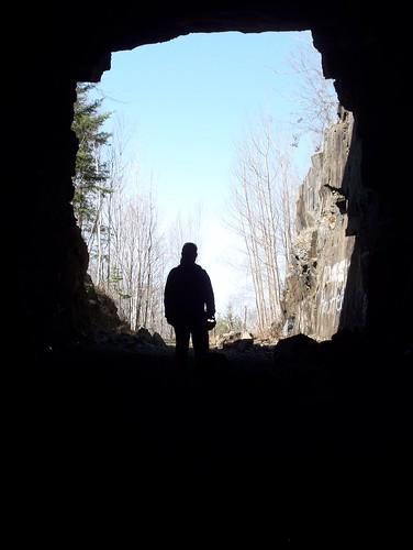 Ely's Peak Tunnel Silhouette