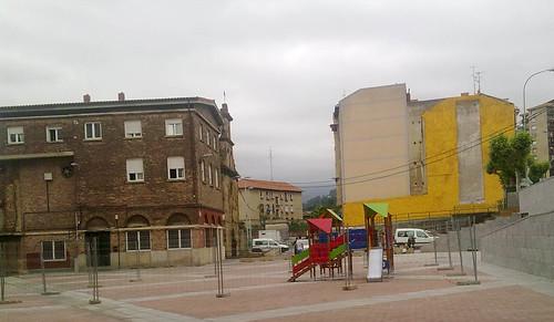 Parque Intantil. Plaza Burtzeña VI. Barakaldo