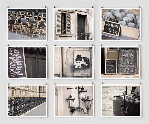 Paris in Black by Little Brown Pen