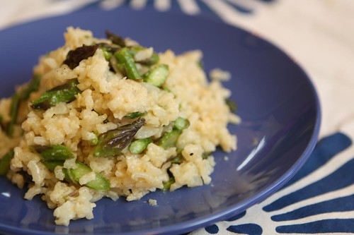 Asparagus Risotto with Robusto