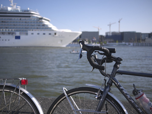 Cruise liner, Amsterdam