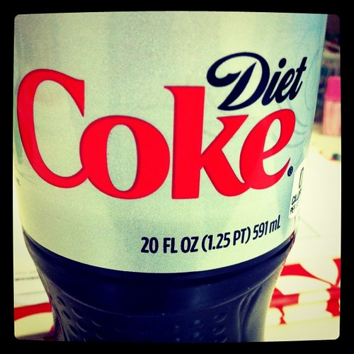 Some days you just need a diet coke.