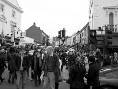 Portobello Crowd (roksoslav) Tags: england london canon g6 portobelloroad 2011 blackwhitephotos streetsandplacesoflondon