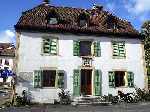 House Jean-Jacques Rousseau visited in La Ferrière