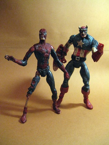 Zombie Cap and Spidey