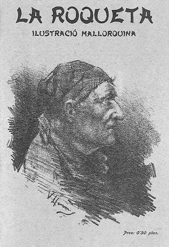Dibujo de V. Llorens (1902)