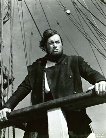 gregory peck as captain ahab moby dick | Flickr - Photo Sharing!