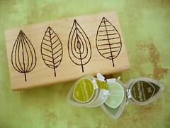 leaf-stamp