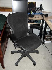 Rym's new chair