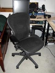 Rym's new chair
