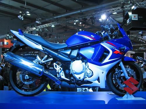 EICMA Show 07 - Suzuki GSX 650 F,motorcycle, sport motorcycle, classic motorcycle, motorcycle accesorys