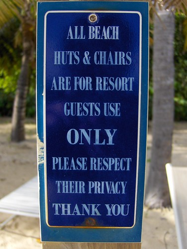 Privacy Sign