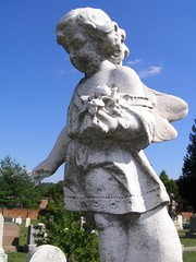 Little Angel (truemoss1) Tags: monument cemetery congressionalcemetery graveart